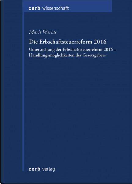 Die Erbschaftsteuerreform 2016